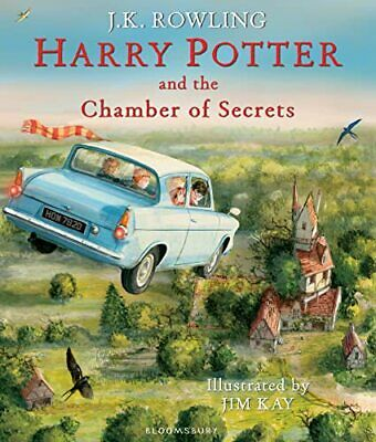 Harry Potter and the Chamber of Secrets: Illustrated Edition... by Rowling, J.K.