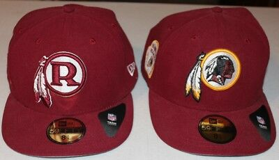 finest selection 3c139 e7482 Washington Redskins New Era 59FIFTY NFL Sideline Cap Hat 2 Total Est 1932  LOOK