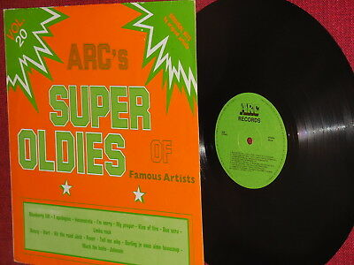 "Fats Domino, Platters, Peggy Lee,..""Super Oldies Of Famous Artists"" LP ARC 02080"