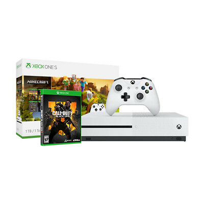 Xbox One S 1TB Minecraft Creators Bundle + Call of Duty: Black Ops 4
