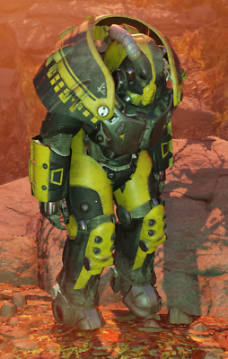 PC Fallout 76 X-01 power armor set (Shocks,jetpack,stealth etc) +fusion cores