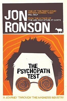 The Psychopath Test by Jon Ronson (Paperback) Book