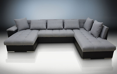 Astounding Large Corner Sofa Bed Group Eric Bedding Place Eco Leather Unemploymentrelief Wooden Chair Designs For Living Room Unemploymentrelieforg