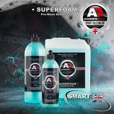 Autobrite Direct Super Snow Foam Pre-Wash foam for use with Foam Lance 500ml