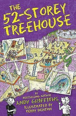 The 52-Storey Treehouse: The Treehouse Books 05 by Griffiths, Andy