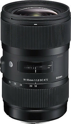 Sigma 18-35mm F1.8 Art DC HSM Lens for Canon. U.S Authorized Dealer