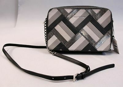 cf102ccd0913 Michael Kors Women s Jet Set East West Crossbody HD3 Marquetry Patchwork  Large