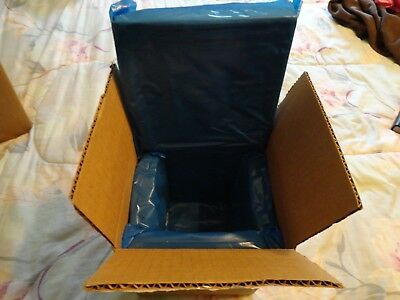 """7""""x7""""x8"""" Uline Shipping Box w/2-piece Thermal Liner"""