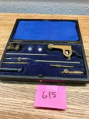 A G THORNTON LTD Manchester  Drafting Drawing Beam Compass Set