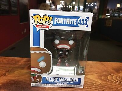 2018 Funko POP! Games Fortnite MERRY MARAUDER #433 Vinyl Figure NIB