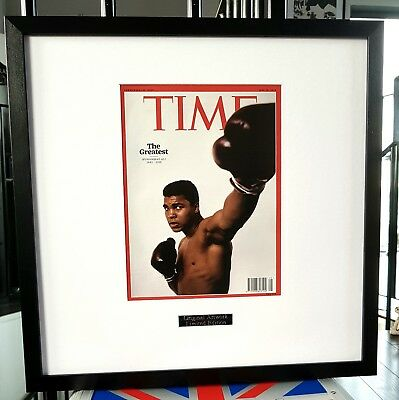 Framed Time Magazine Commerative Tribute issue The Greatest Muhammad Ali 2016
