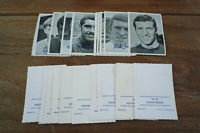 A&BC B&W Football Cards 1969 - Crinkle Cut - VGC!  Pick The Cards You Need!