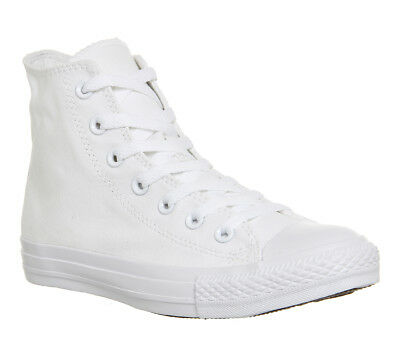 c317720e1ac8 WOMENS CONVERSE WHITE Canvas Lace Up Trainers Size UK 6  Ex-Display ...