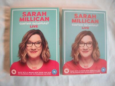 Sarah Millican: Control Enthusiast - Live (2018, DVD) Stand-Up Comedy - NEW