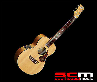 Maton EMS6 Mini Acoustic-Electric Guitar Hand Made in Australia with Hard Case