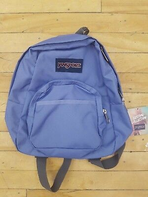 4fca325fd6 New With Tags Jansport Half Pint Mini Backpack Bleached Denim For Unisex