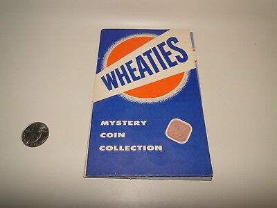 """WHEATIES """"Mystery Coin Collection"""" Card for World Coins (NO Coins)"""