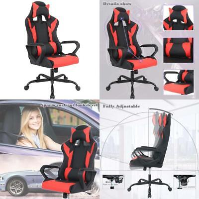 Gaming Chair Racing Chair Office Chair Ergonomic High-Back Leather Chair Reclini