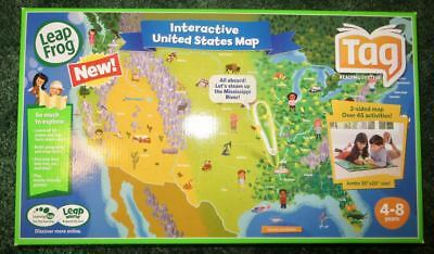 Leap Frog Tag Reader US Map