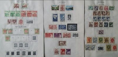Lot of Australia Old Stamps Used/MH---