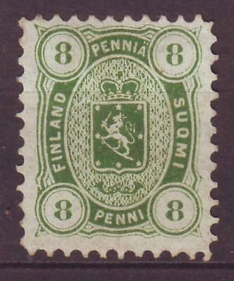 m6649/ Finland MH (no gum) 8 Penni Issue 1875-1881