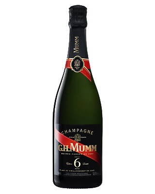 Mumm 6 Ans Cordon Rouge Brut Champagne Sparkling 750mL case of 6