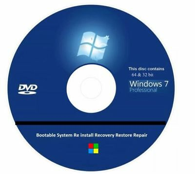 making a windows 7 recovery disc