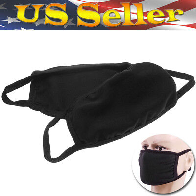2Pcs Unisex Washable Earloop Mask Cycling Anti Dust Mouth Face Mask Protective