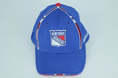 3c6f3e6091d ... italy new york rangers hat cap reebok center ice nhl stretch fit size  small medium a0a86