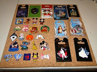 Disney Pin Collection LE OE LR HM DSSH DSF PTD AUTHENTIC 30 pins STITCH PETER