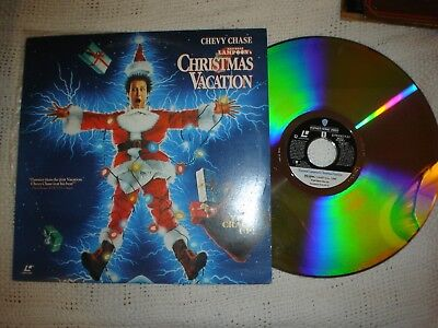 RARE Laserdisc Christmas Vacation National Lampoon's Chevy Chase