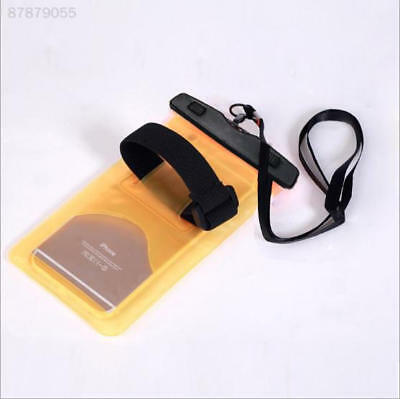 BE68 Universal Waterproof Floating Swim Drifting Phone Bag Armband Cover Pouch