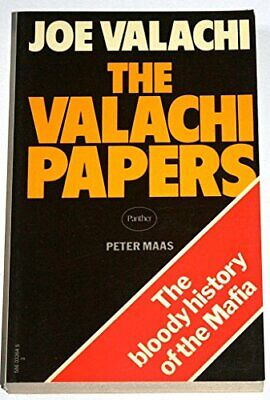 The Valachi Papers by Maas, Peter Paperback Book The Cheap Fast Free Post