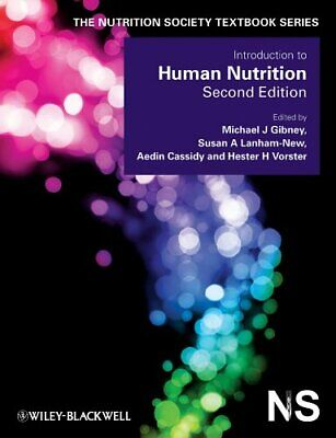 Introduction to Human Nutrition (The Nutrition Society Textbook) Paperback Book