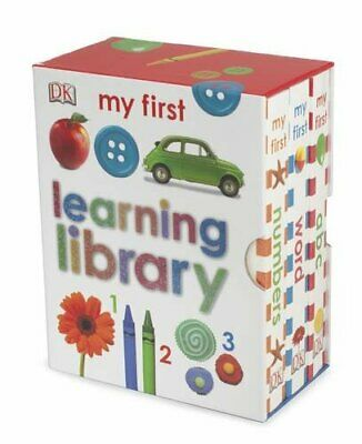 Learning Library (My First Board Book) by DK Board book Book The Cheap Fast Free