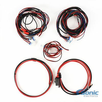 New! Metra MPS-AK84 4-Channel Motorcycle and Powersports Audio Amplifier Kit