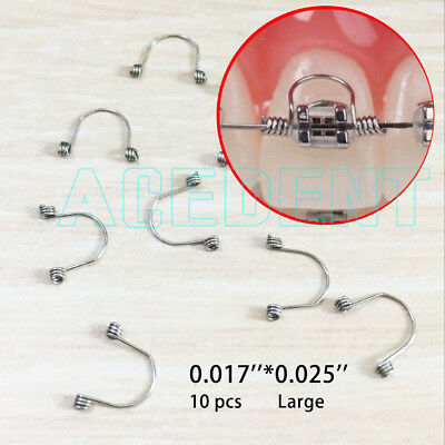 Orthodontic Anterior teet Torquing Spring Goodman - Large - fit dental arch wire