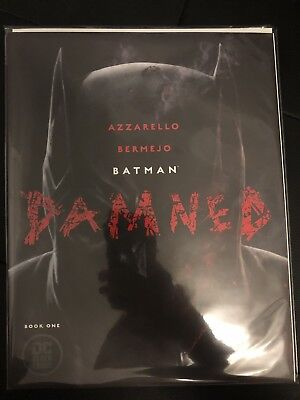 BATMAN DAMNED #1 1st print COVER A DC BLACK LABEL High Grade UNCENSORED