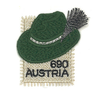 Austria 2018 Styrian Hat Embroidered Stamp Self-adhesive Mint Unhinged MUH
