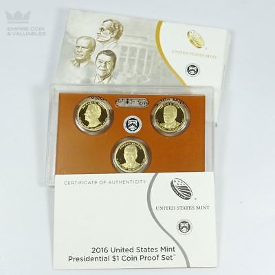 2016 United States Mint Presidential $1 Coin Proof Set