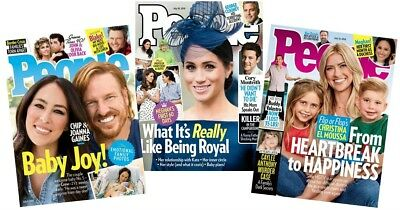 People Magazine - Yearly Subscription - 54 Issues- Weekly Published
