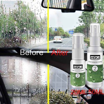 1x HGKJ-2-50ml Ceramic/Glass Nano-hydrophobic Coating Anti-rain Agent Spray