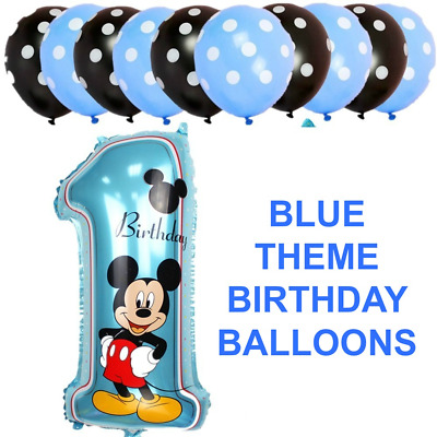 d615c810697 Disney mickey minnie mouse number foil balloons pink blue birthday baloons  jpg 400x400 Mickey minnie pink