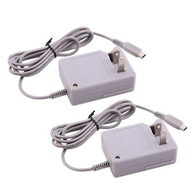 US 2Pcs DC 4.6V AC Wall Charger Power Adapter line For Nintendo DSi NDSi 3DS