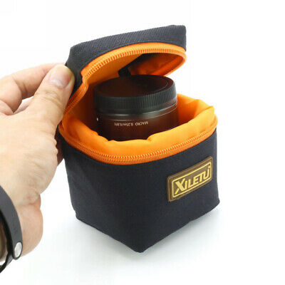 DSLR SLR Camera Lens Pouch Protector Portable Carrying Case Bag Waterproof New