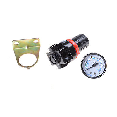 1pc AR2000 G1/4'' mini air pressure regulator air treatment Valve HDUK