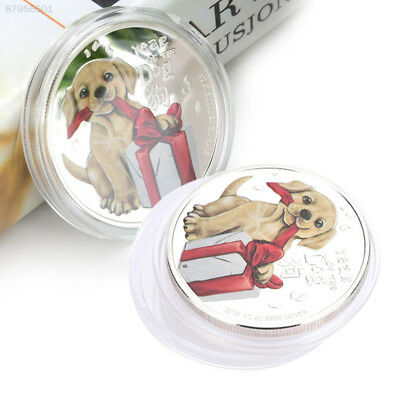 1B22 Year Of Dog Gifts Round Arts and Crafts Souvenirs DOGE Australian