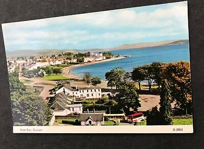 Postcard Dunoon West Bay