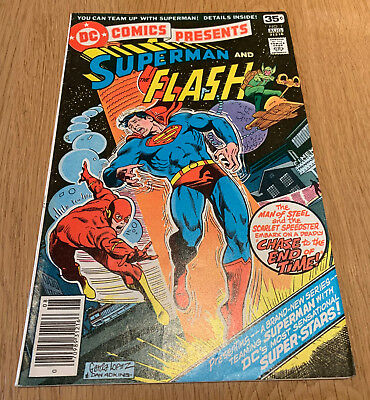 Superman and The Flash #1 DC 1978