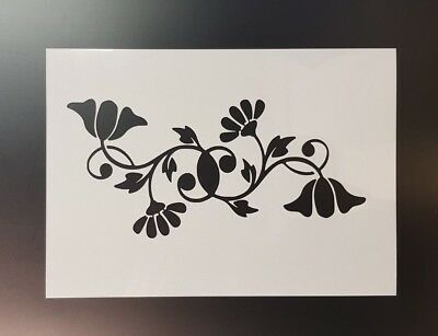 Cannabis leaf flower wall art stencil,Strong,Reusable,Recyclable